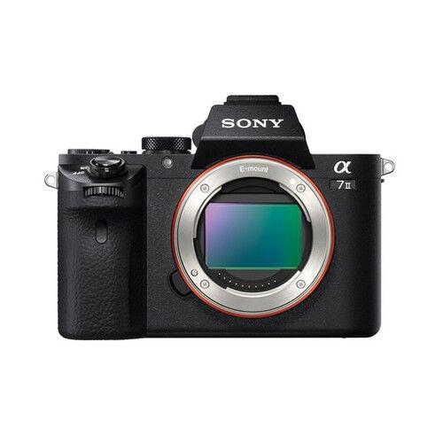 Sony Fotocamera Mirrorless Sony A7 II Black (ILCE-7M2B) - Prodotto in Itali