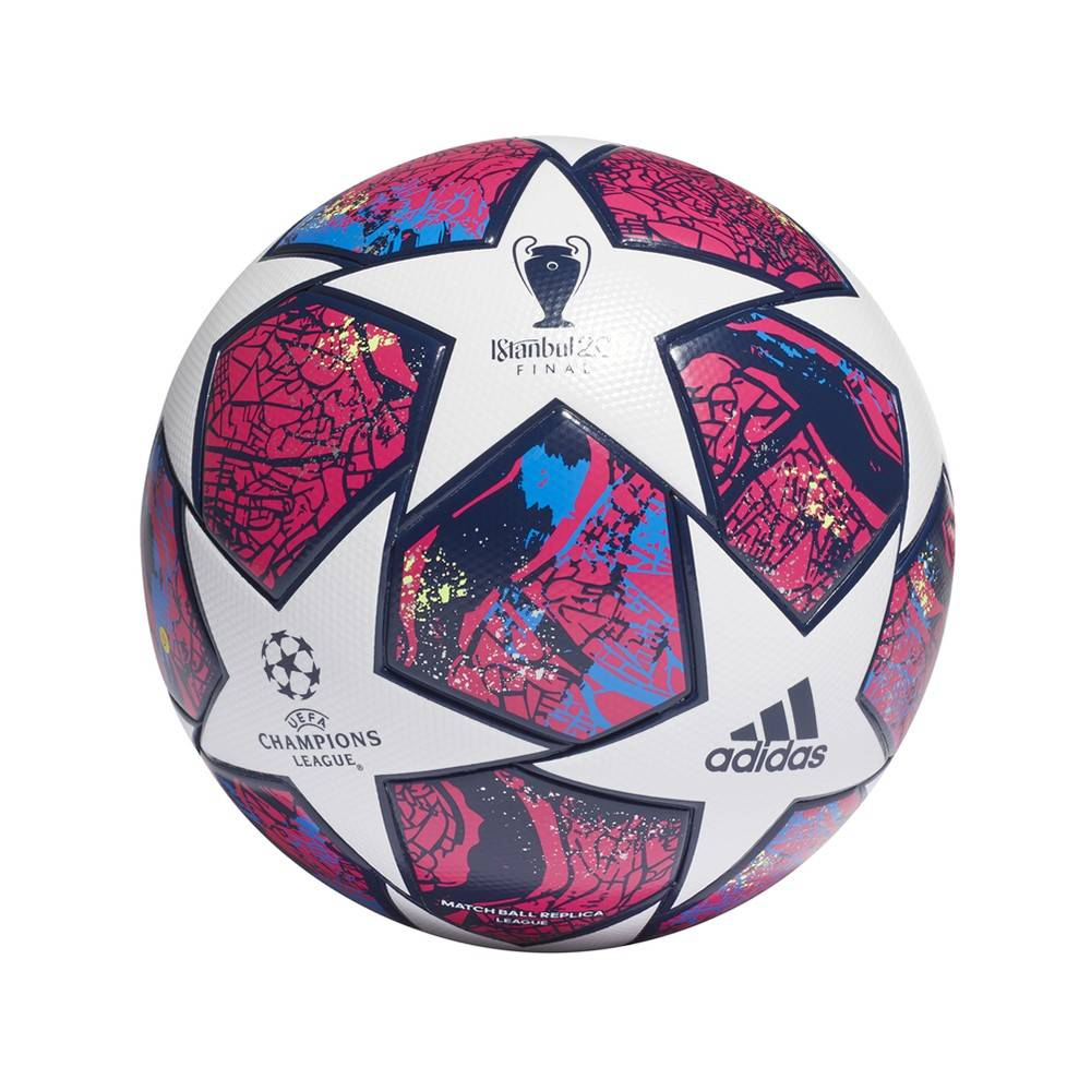 ADIDAS pallone da calcio finale ist lge bianco blu unisex 5