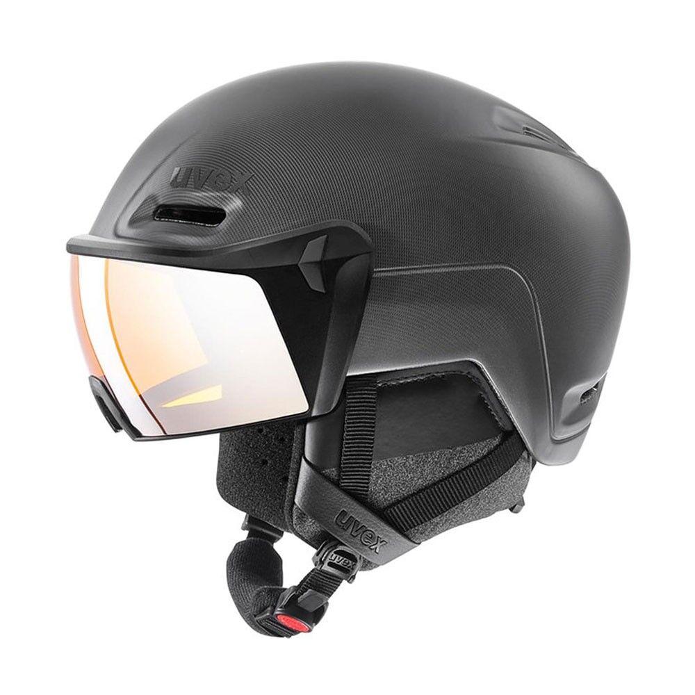 uvex casco sci hlmt 700 visor nero uomo 55/59