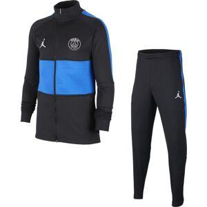 Nike Tuta Calcio Psg Dry Strike Jordan Nero Blu Bambino M