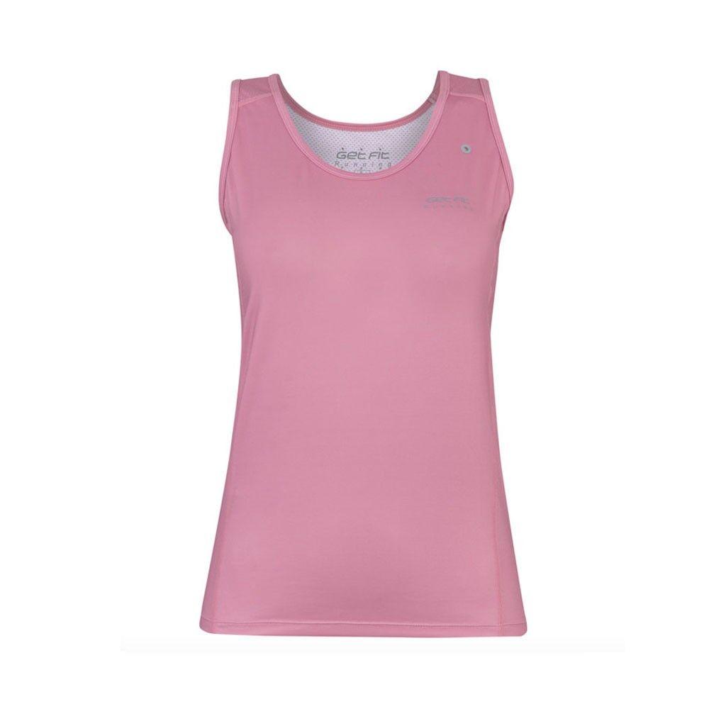get fit canotta running thalie rosa donna s
