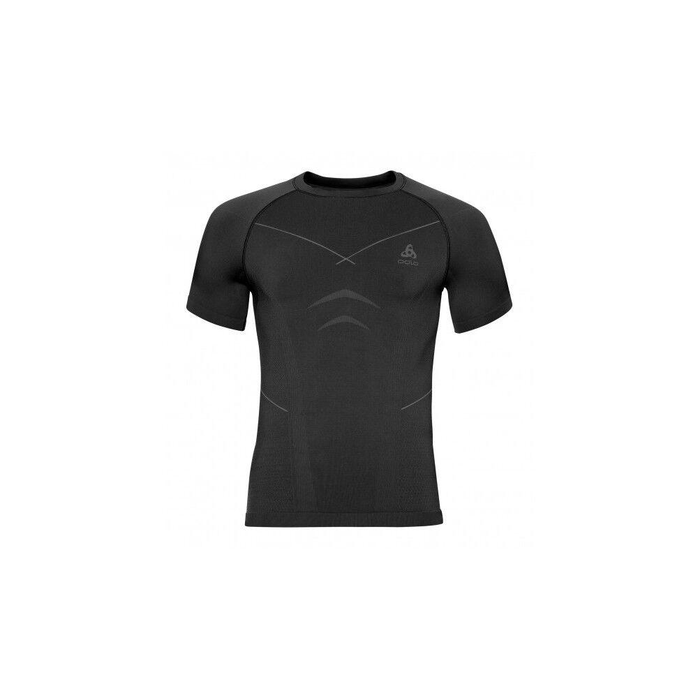 Odlo T-Shirt Evolution Warm Black/Graph Grey XXL