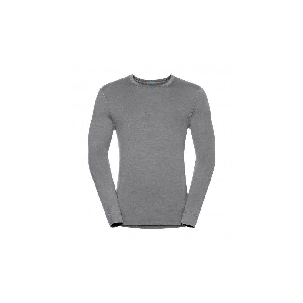 Odlo Maglia Natural Merino Grey Melange XL