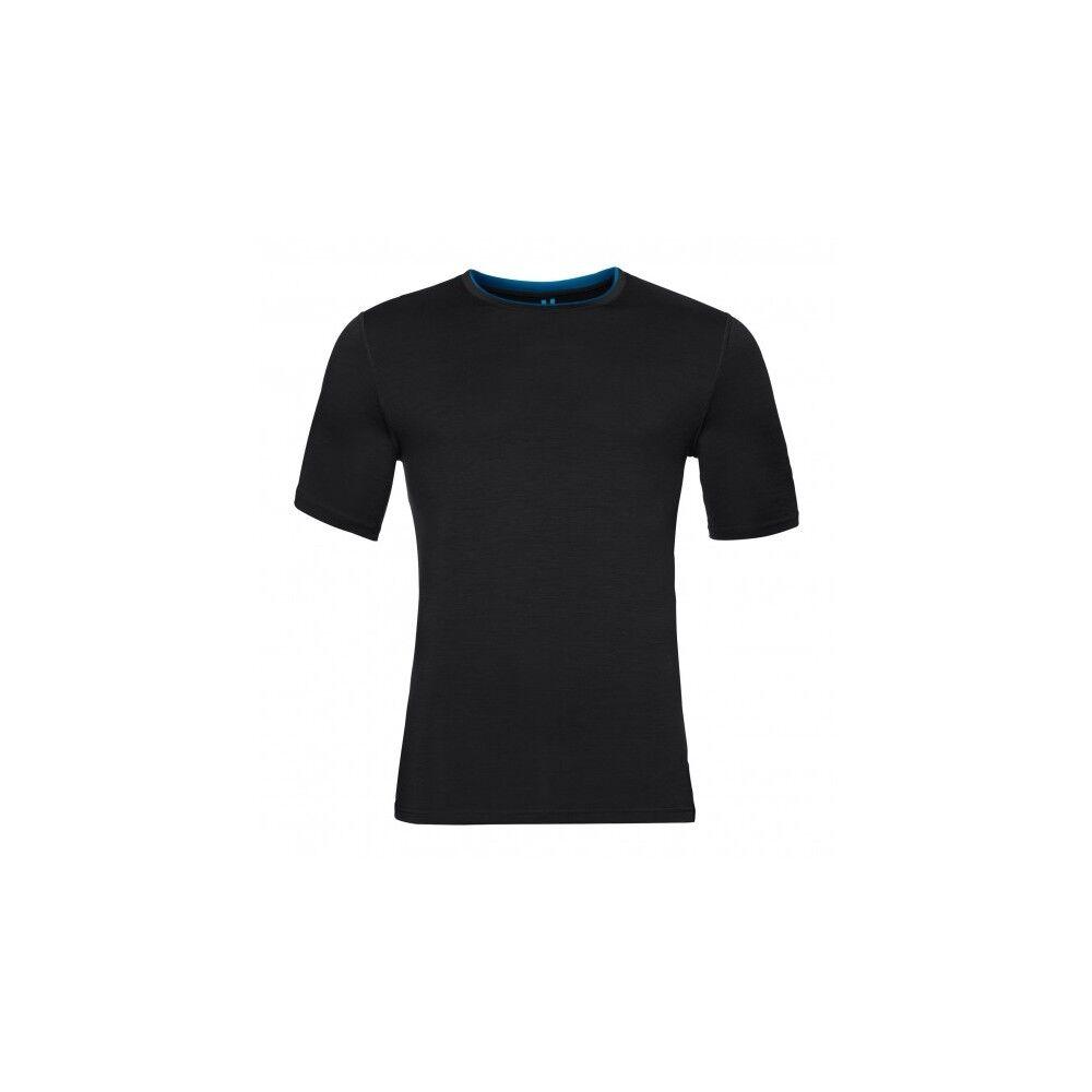 Odlo T-Shirt Natural Merino Black XL