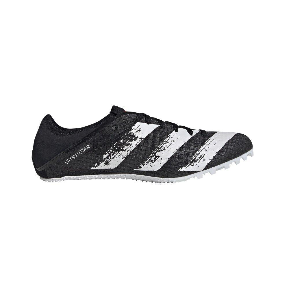 adidas scarpe running sprintstar core nero bianco uomo eur 38 / uk 5