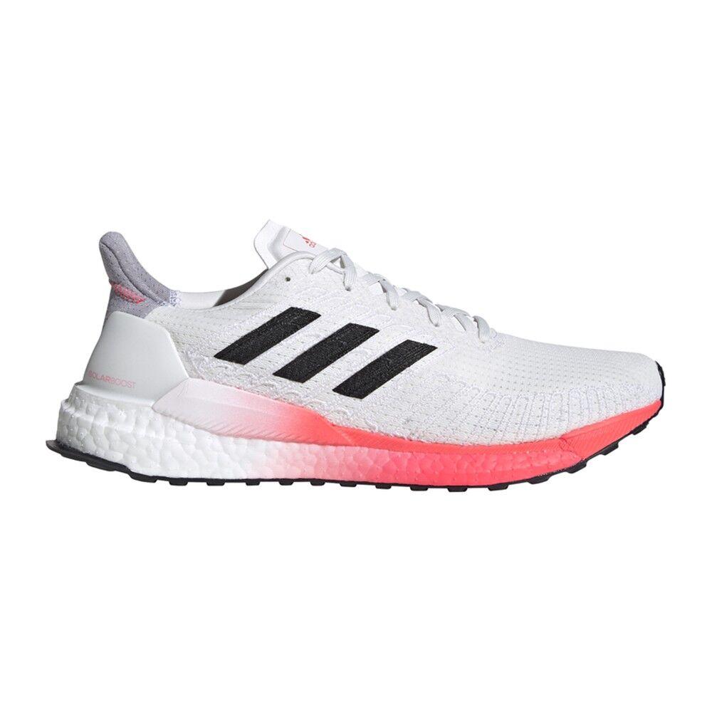 adidas scarpe running solar boost 19 crystal bianco core nero uomo eur 42 2/3 / uk 8,5