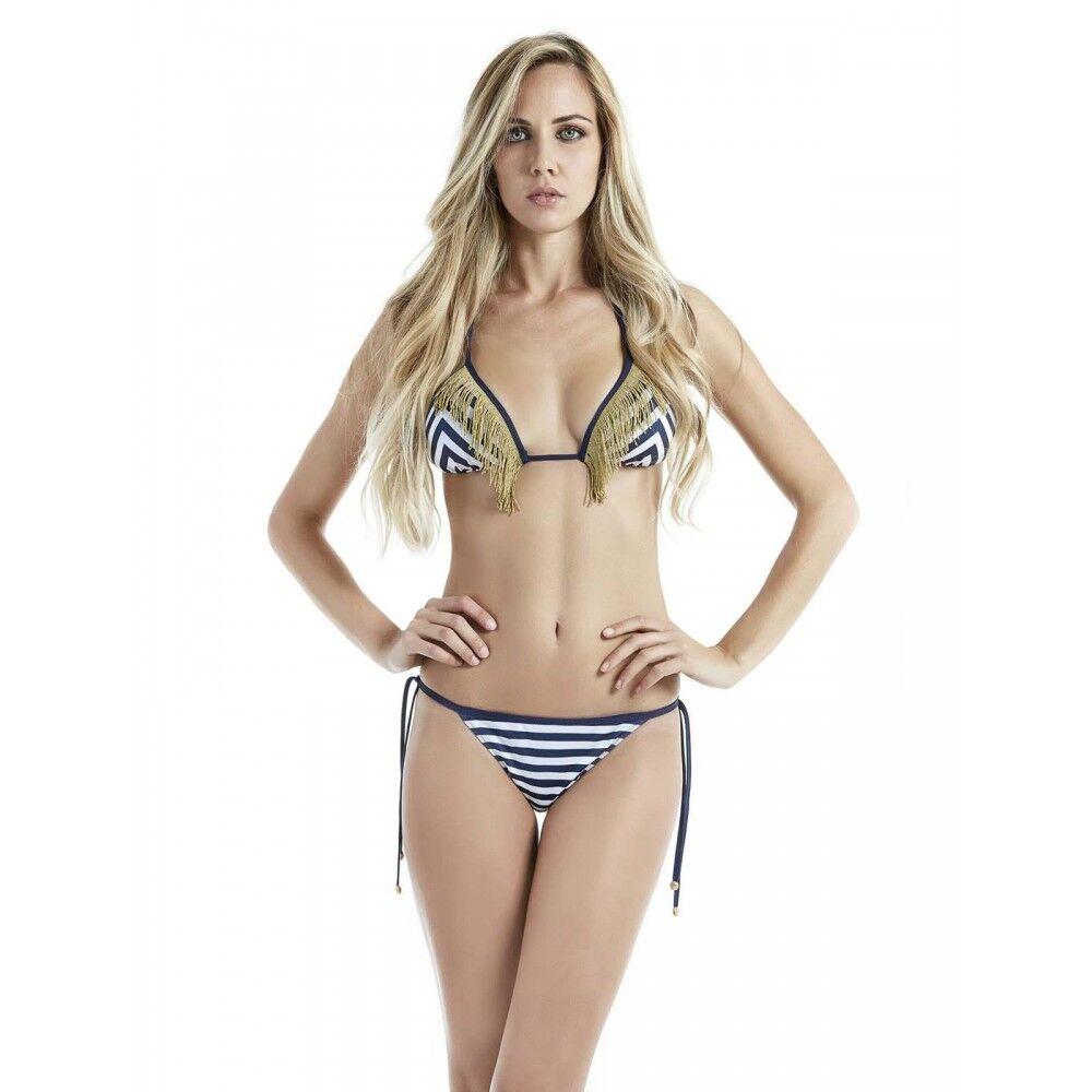 4Giveness Bikini Donna St.Tropez Azzurro L