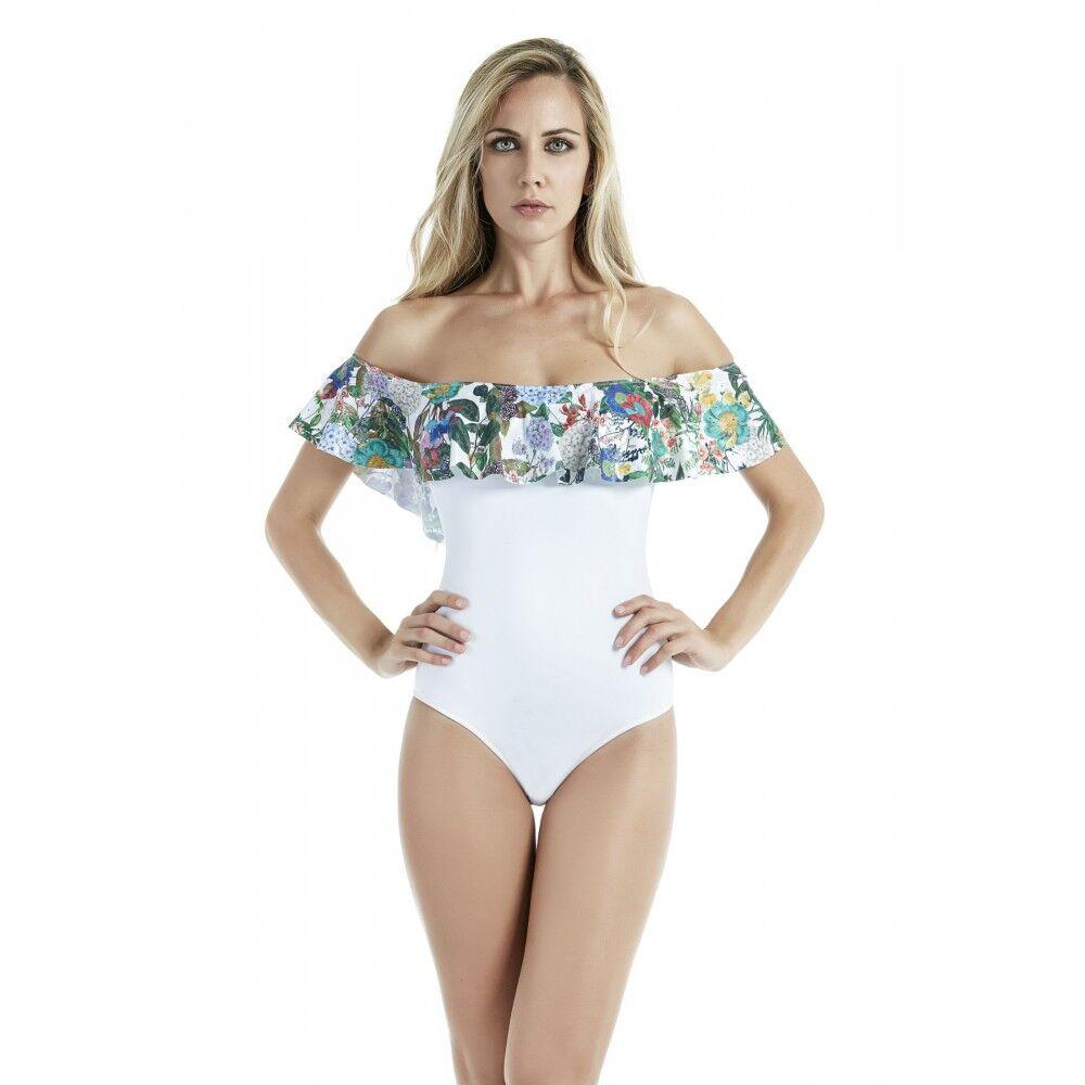 4Giveness Costume Intero Donna San Gallo Bianco M