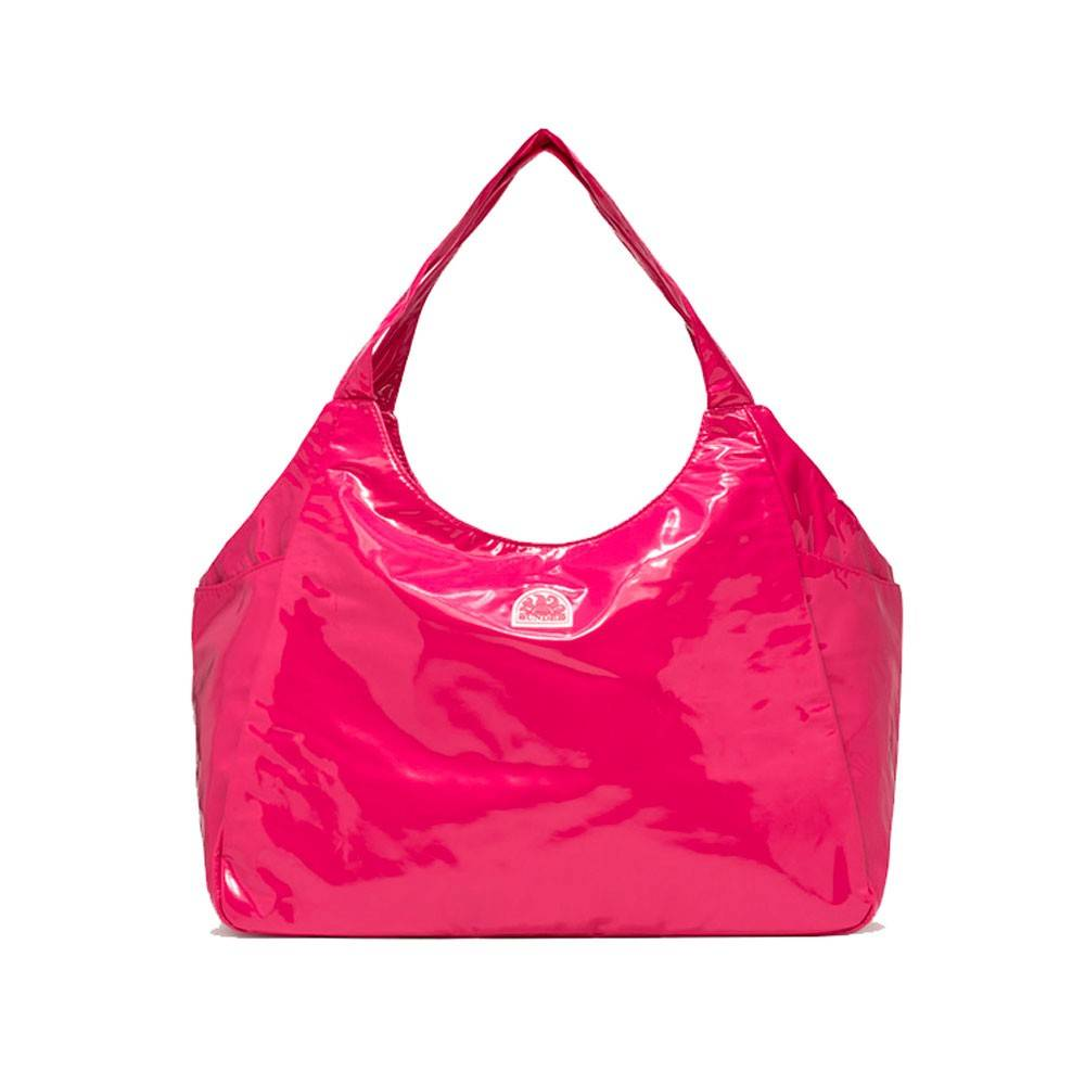 sundek borsa mare lucido rosa donna tu