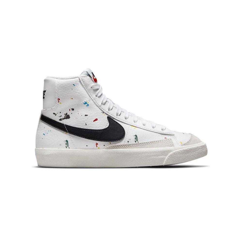 nike sneakers blazer mid 77 bianco nero bambino eur 40 / us 7y