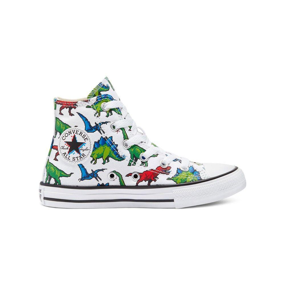 Converse Sneakers All Star Digital Dinosauri Bianco Bambino EUR 32