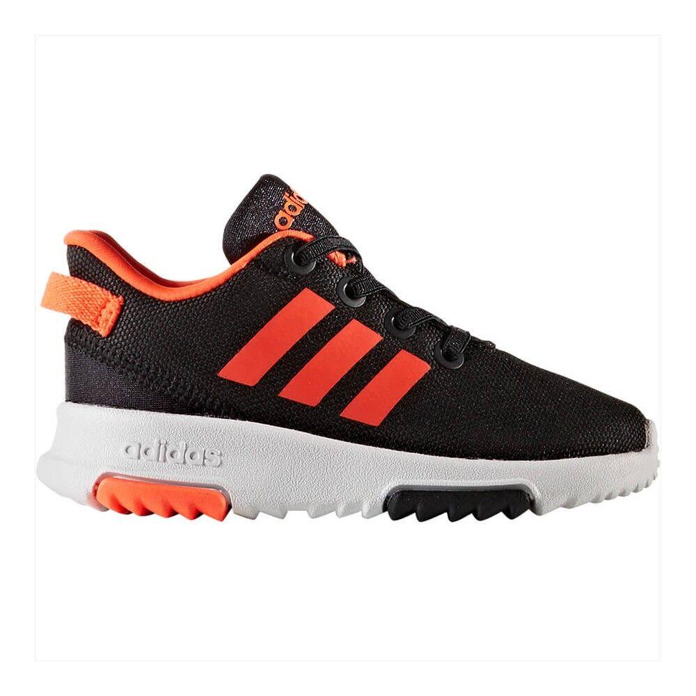 ADIDAS scarpa bambino racer tr nero/rosso EUR 21