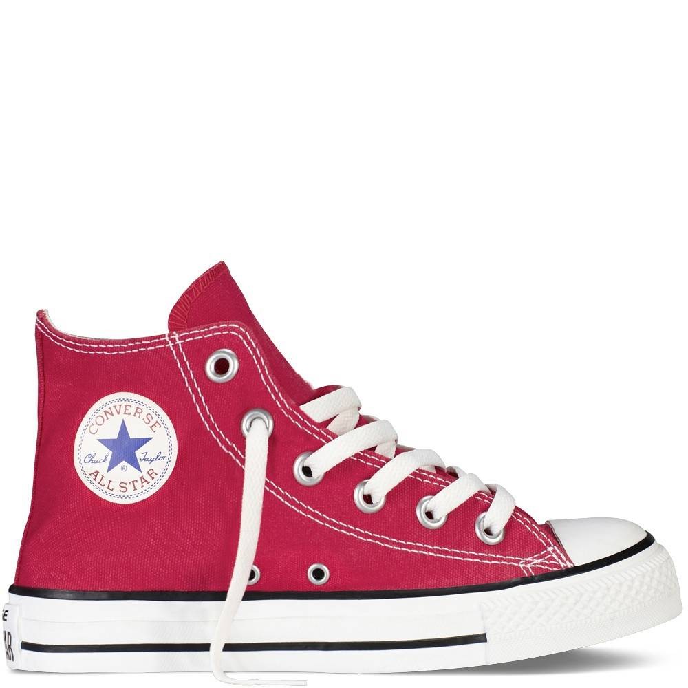 Converse Chuck Taylor All Star Canvas Hi Core Rosso Bambino EUR 29