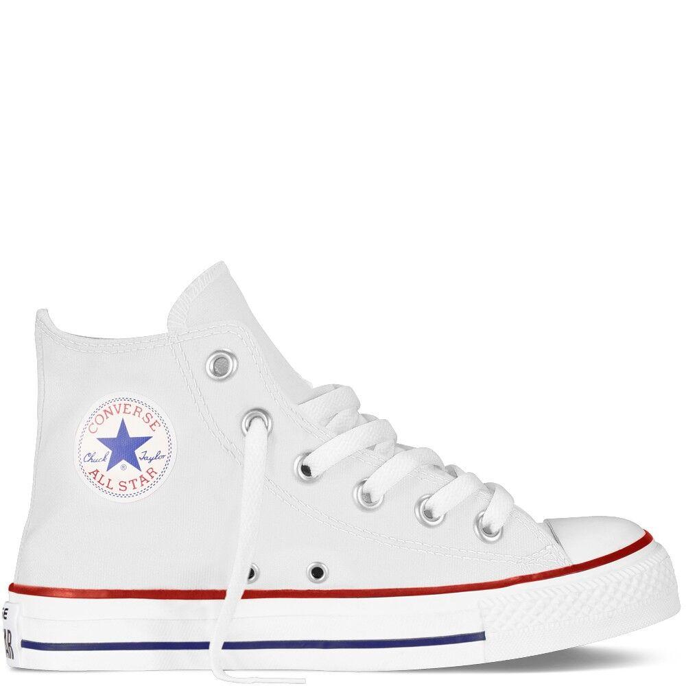 Converse Chuck Taylor All Star Canvas Hi Core Bianco Bambino EUR 32