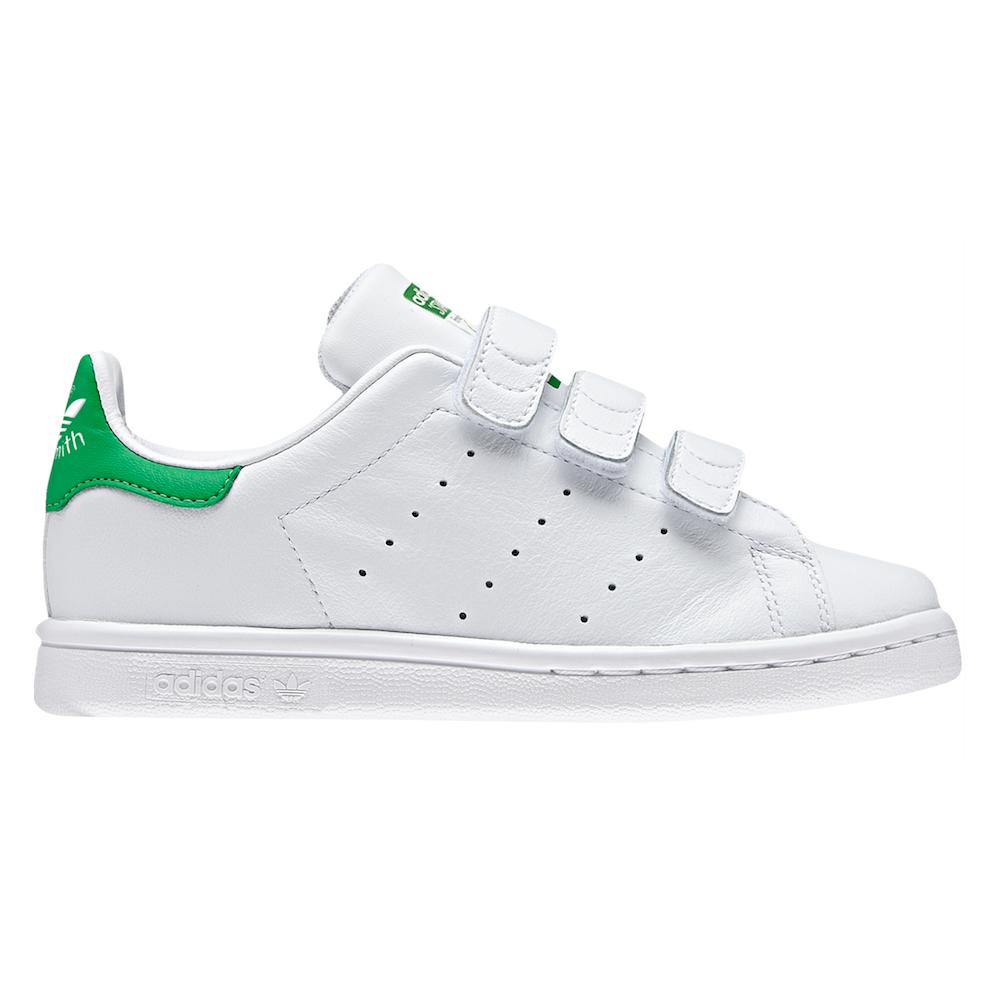 ADIDAS ORIGINALS sneakers stan smith cf c ps bianco verde bambino EUR 33
