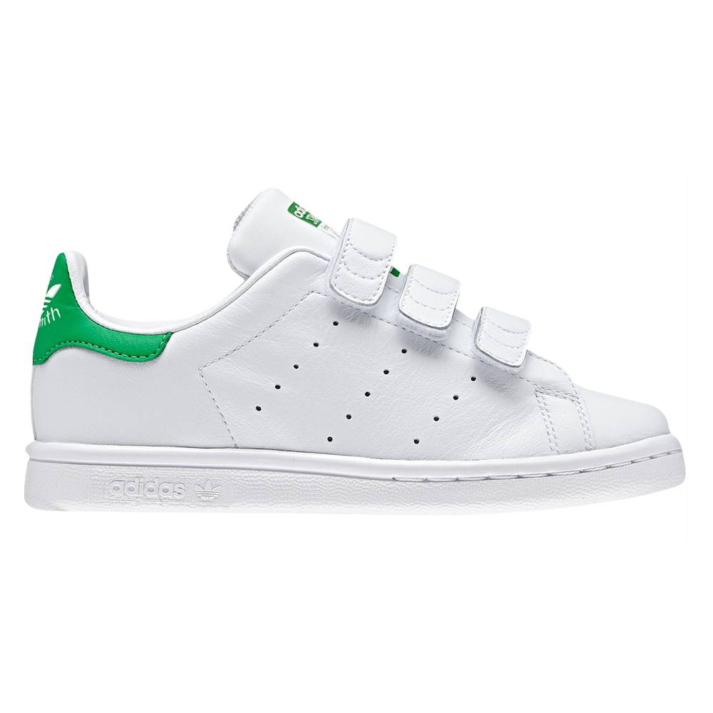 ADIDAS ORIGINALS sneakers stan smith cf c ps bianco verde bambino EUR 30