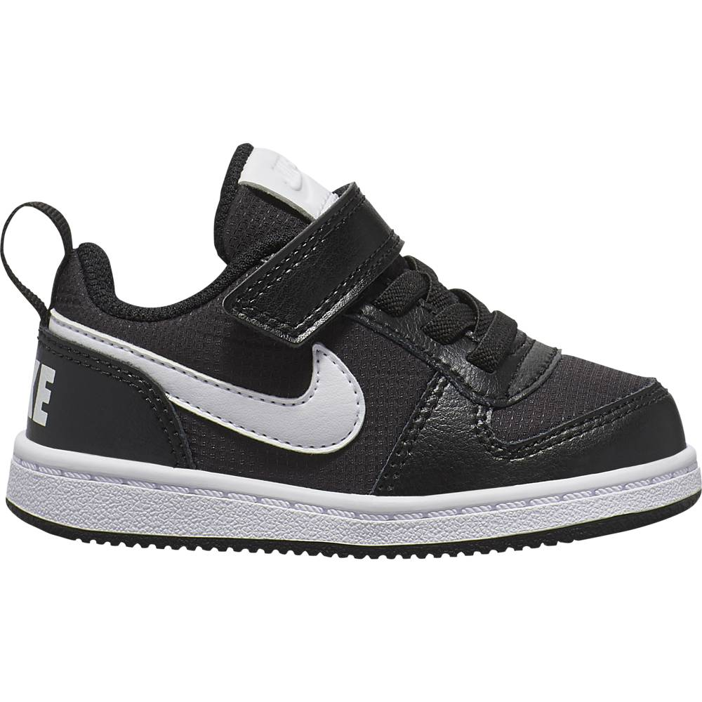 Nike Sneakers Court Borought Pe Low Tdv Nero Bianco Bambino EUR 22 / US 6C