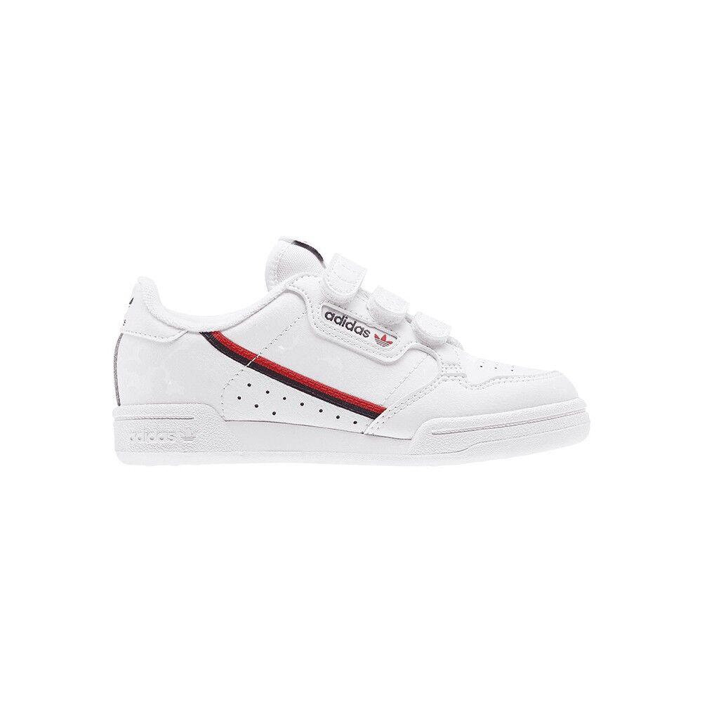 ADIDAS ORIGINALS sneakers continental 80 cf c ps bianco nero bambino EUR 28
