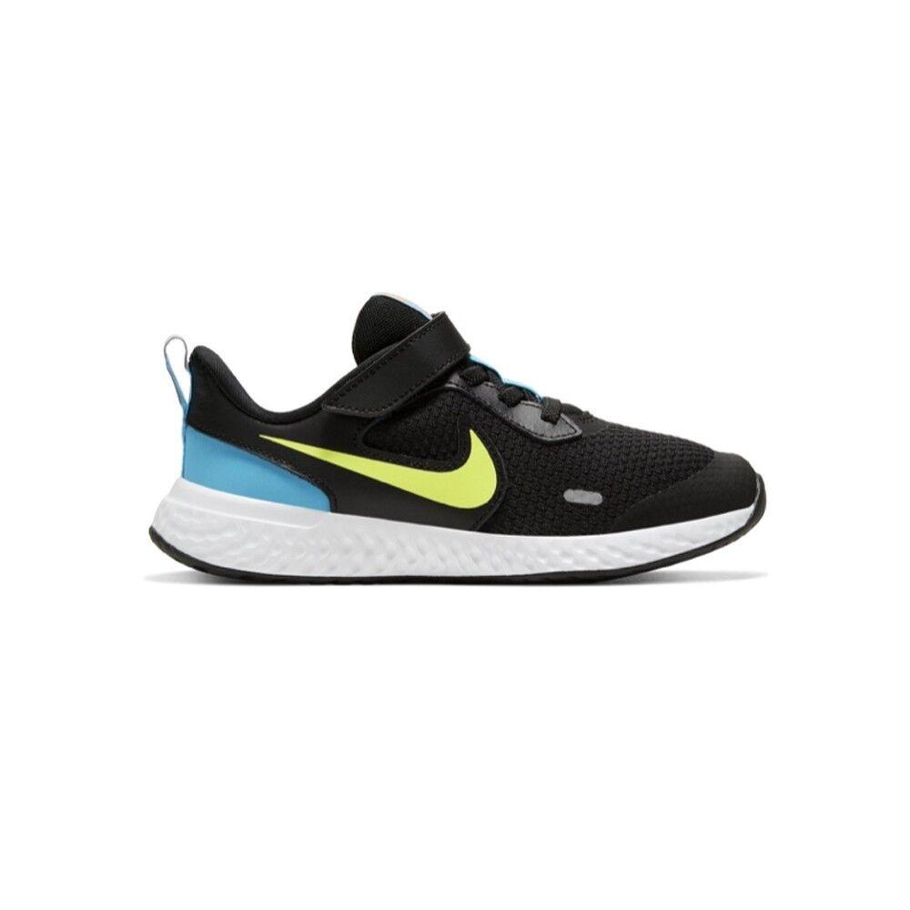 Nike Sneakers Revolution 5 Psv Grigio Arancio Bambino EUR 35 / US 3Y