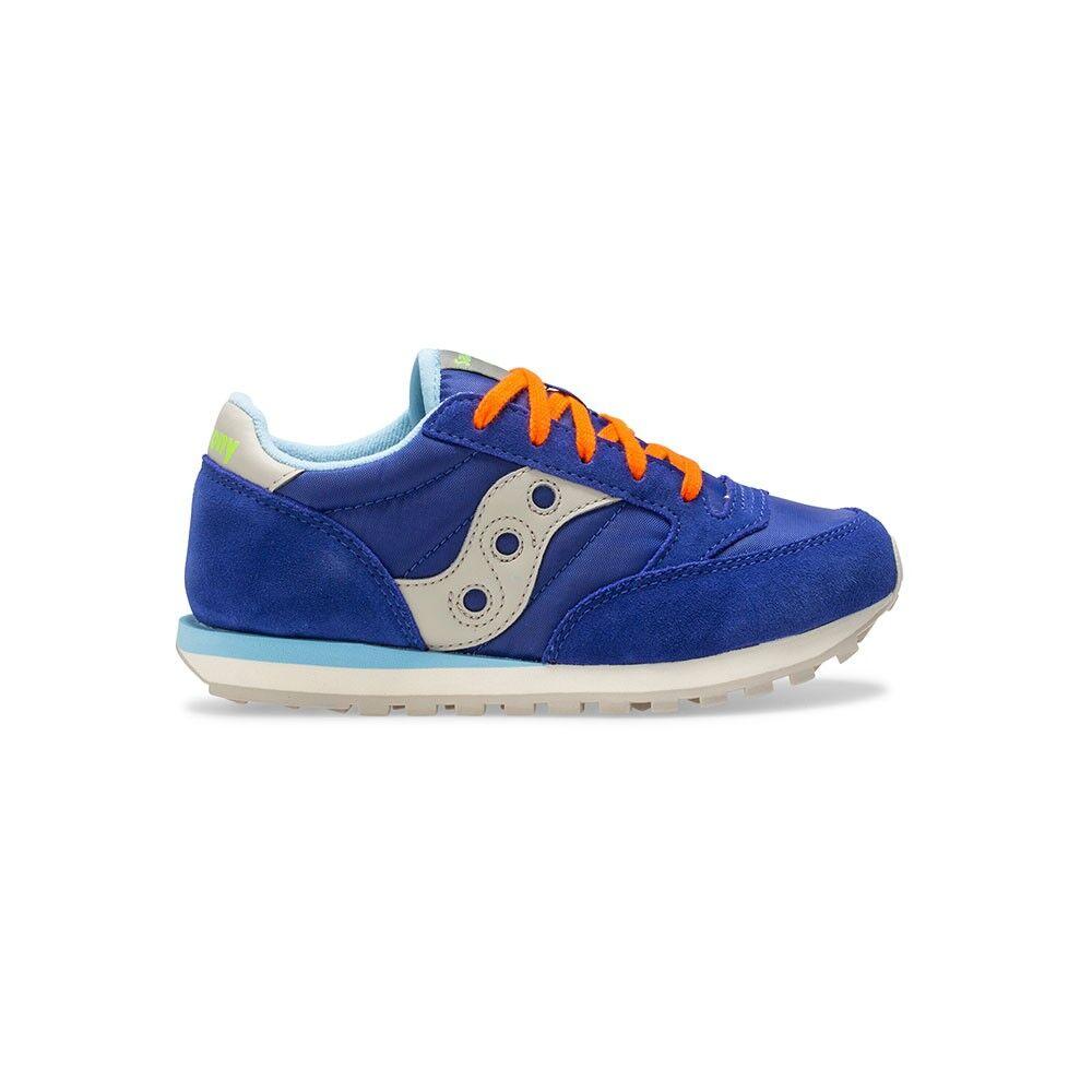 Saucony Sneakers Jazz O Gs Ll Blu Grigio Bambino EUR 38 / US 6