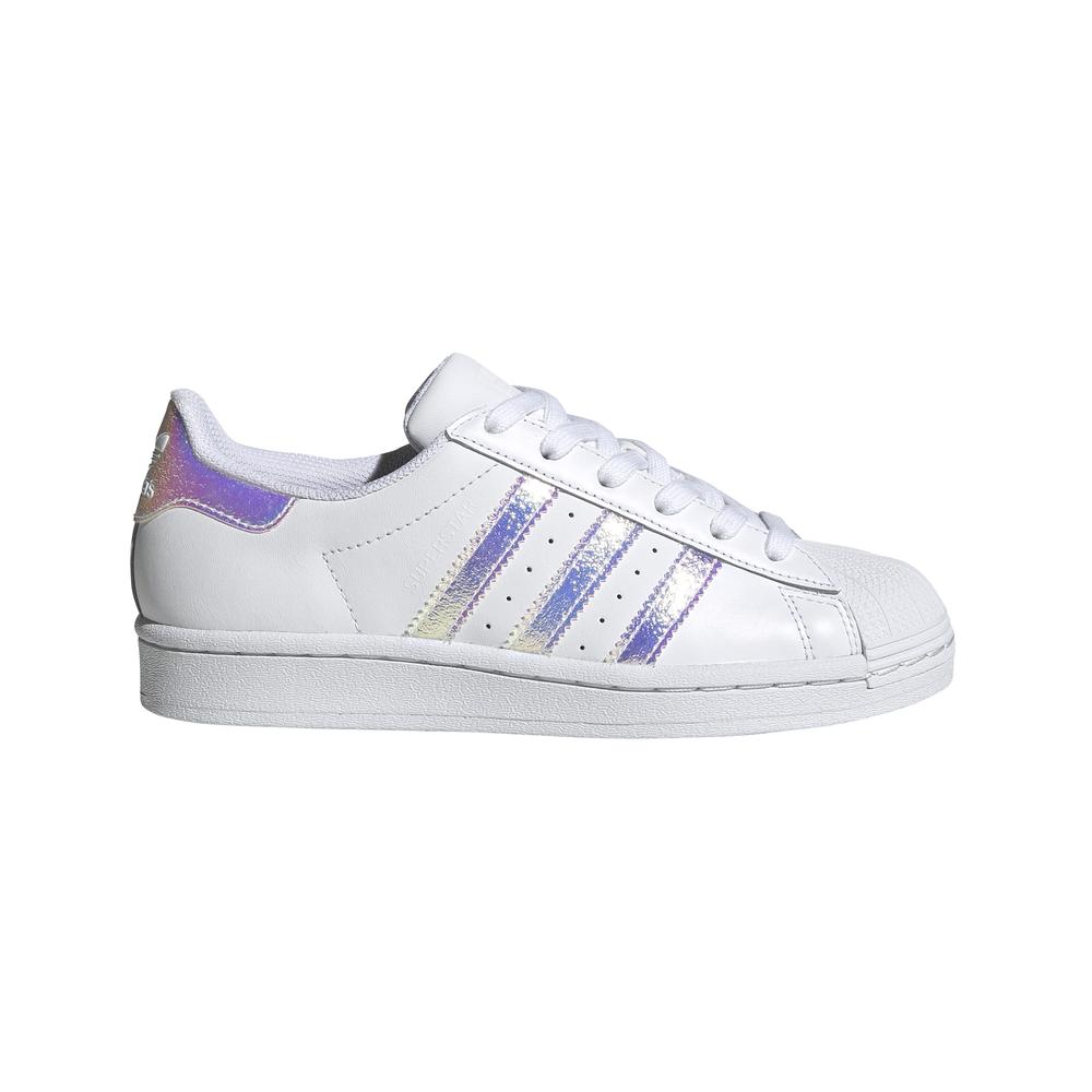 ADIDAS ORIGINALS sneakers superstar gs bianco argento bambino EUR 38 2/3 / UK 5,5