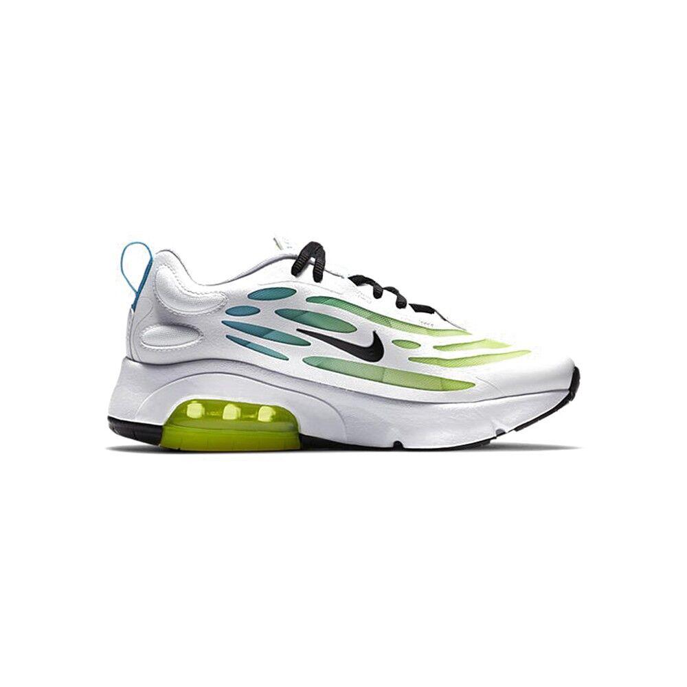 Nike Sneakers Air Max Exosense Se Gs Bianco Blu Bambino EUR 38.5 / US 6Y