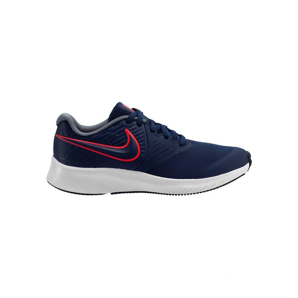Nike Scarpe Ginnastica Star Runner 2 Gs Blu Rosso Bambino EUR 39 / US 6.5Y