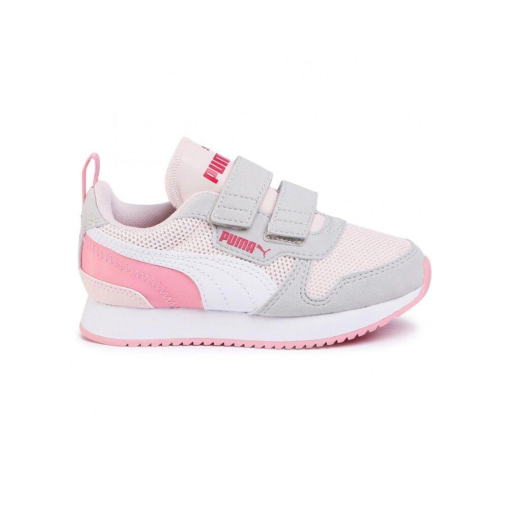 Puma Sneakers R78 V Ps Rosa Bianco Bambino EUR 28 / UK 10