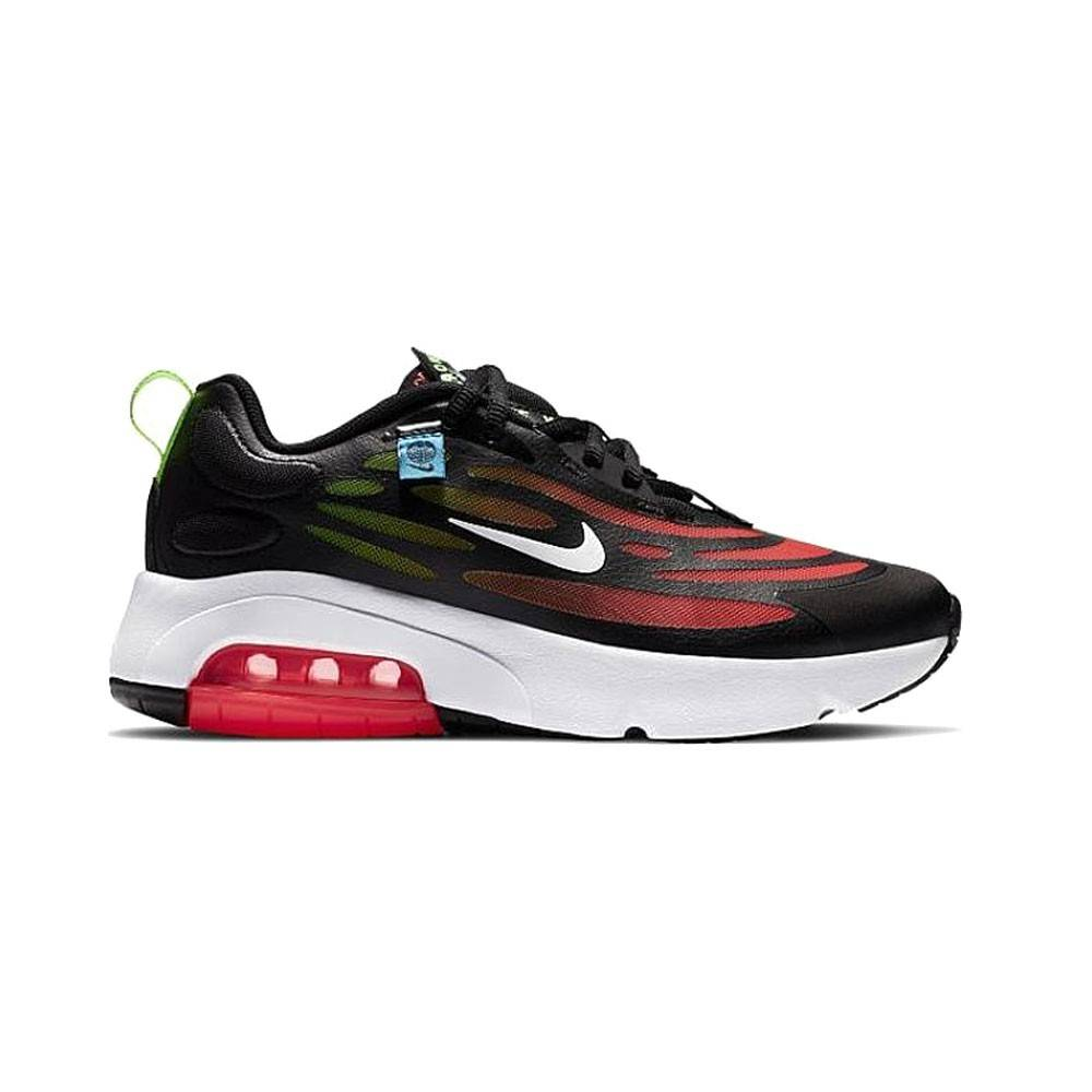 Nike Sneakers Air Max Exosense Se Gs Nero Rosso Bambino EUR 36.5 / US 4.5Y