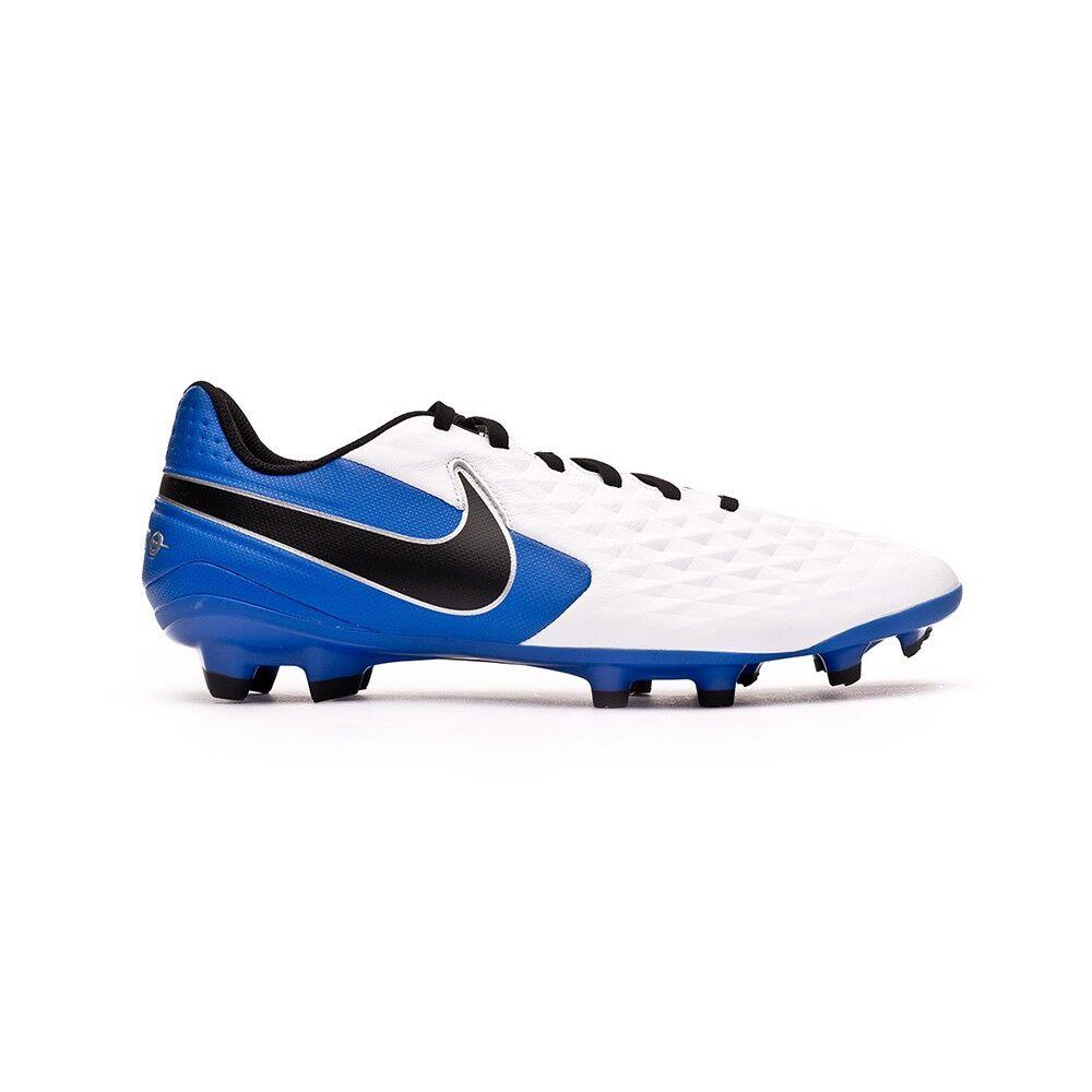 Nike Scarpe Calcio Legend 8 Club Fg Mg Bianco Blu Nero Bambino EUR 37.5 / US 5Y