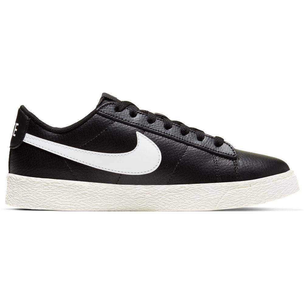 Nike Sneakers Blazer Low Gs Nero Bianco Bambino EUR 36 / US 4Y