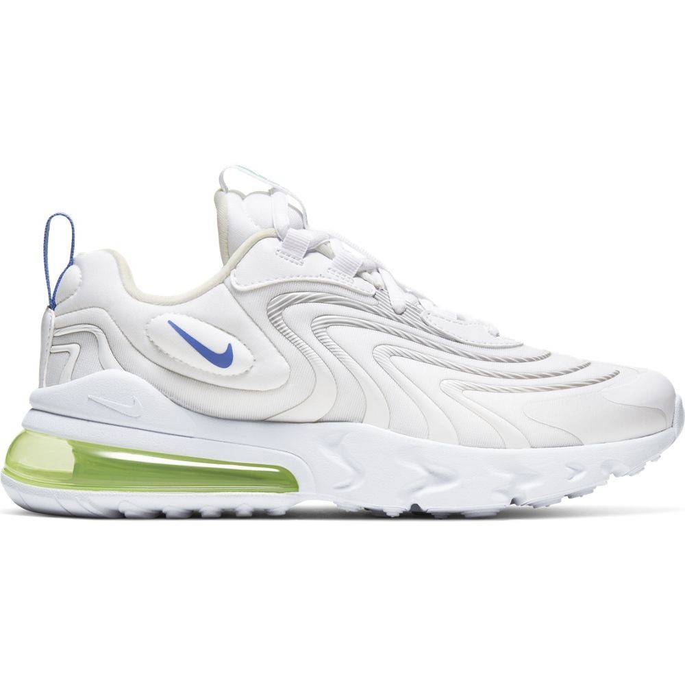 Nike Sneakers Air Max 270 React Eng Gs Bianco Viola Bambino EUR 40 / US 7Y
