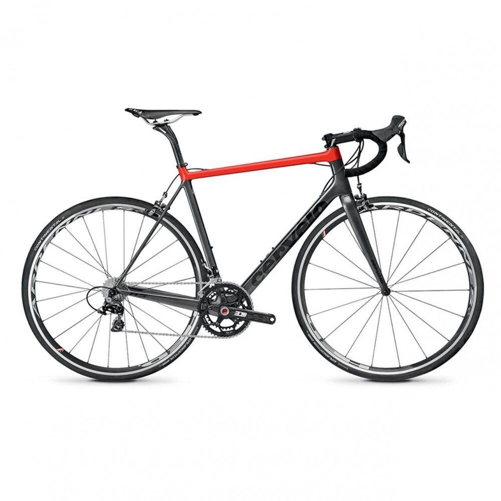 Cervélo Cervèlo Bici da Corsa R5 Dura Ace Nero Rosso M / 54