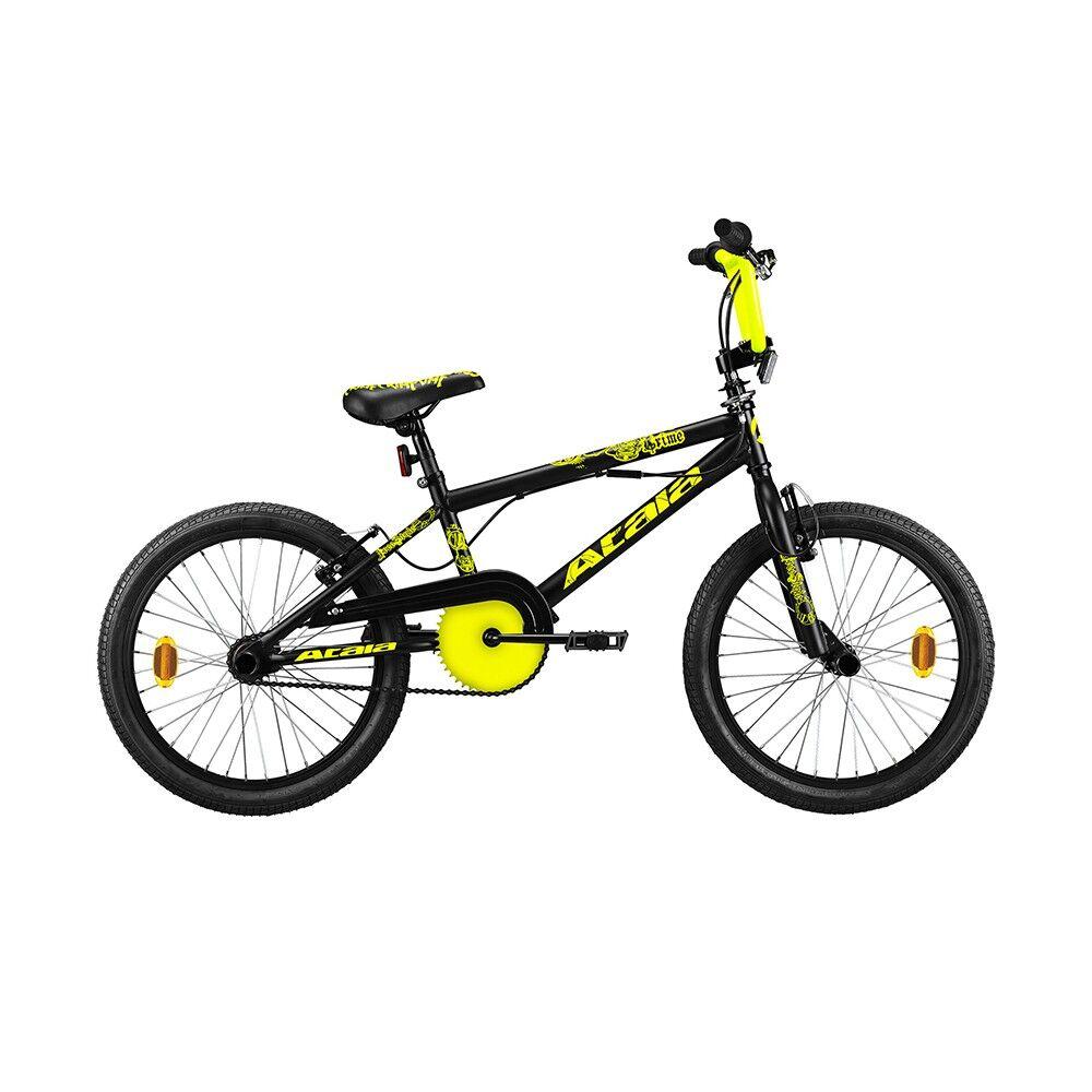 Atala Bicicletta BMX Crime Nero Giallo Bambino TU