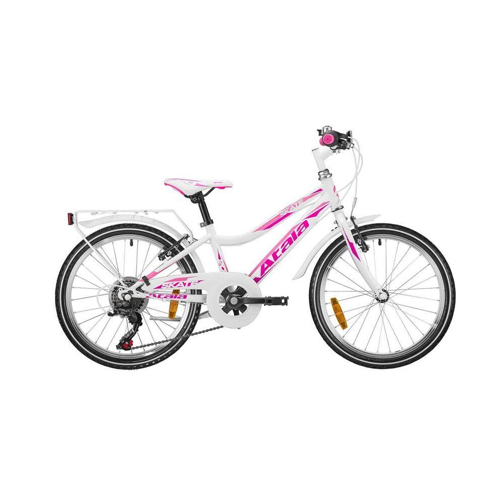 "Atala City Bike Skate 20"" Bianco Bambina TU"