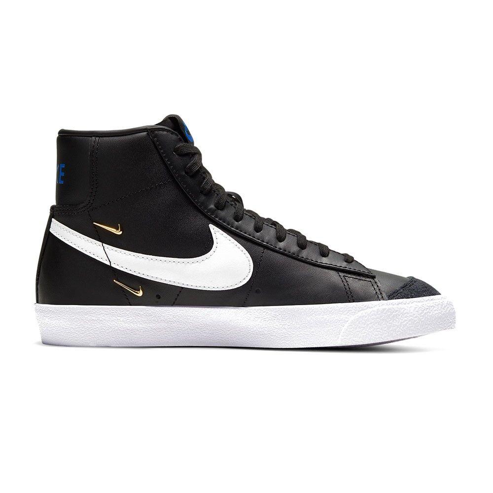 nike sneakers blazer 77 se nero bianco donna eur 38 / us 7