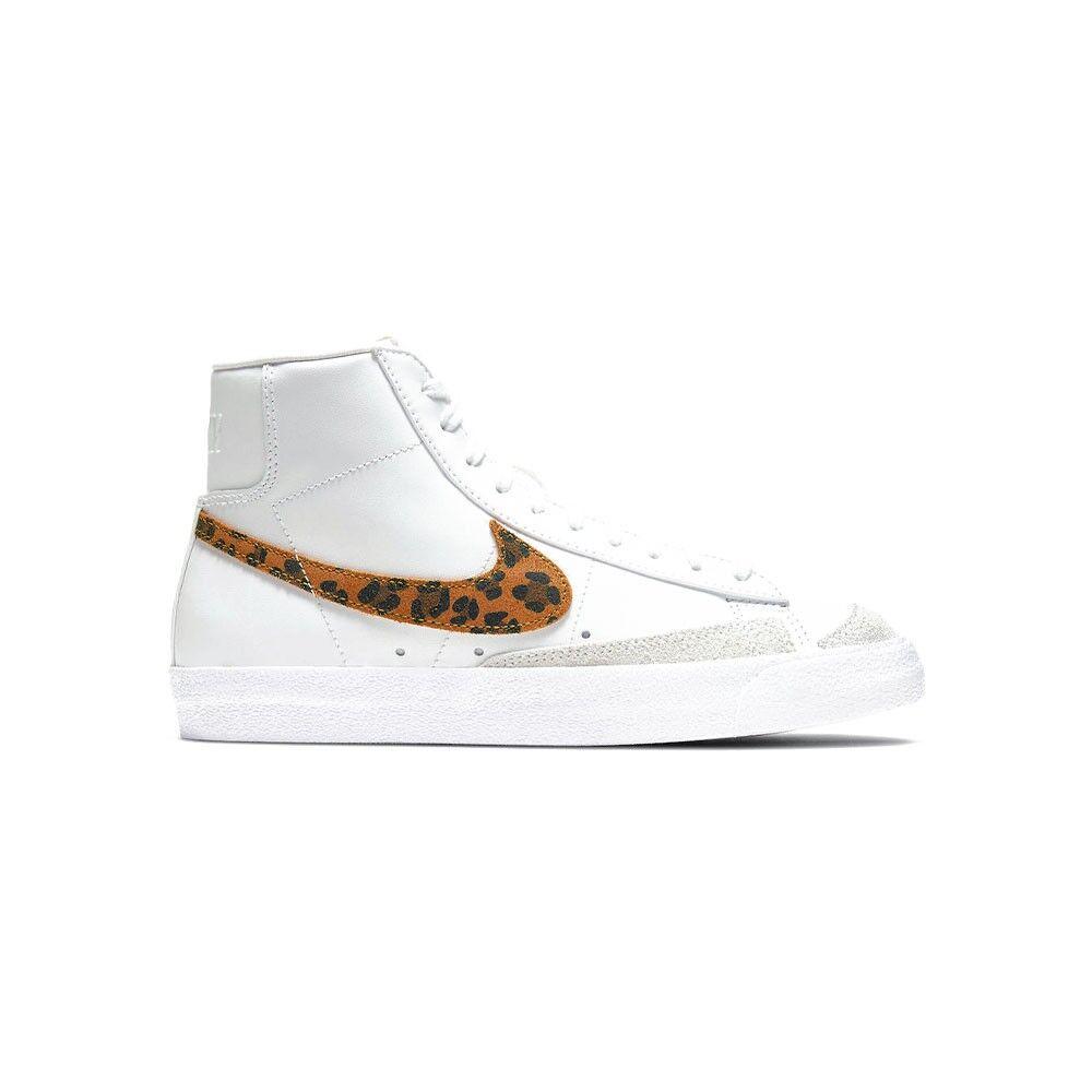 nike sneakers blazer mid 77 se bianco animal donna eur 38 / us 7