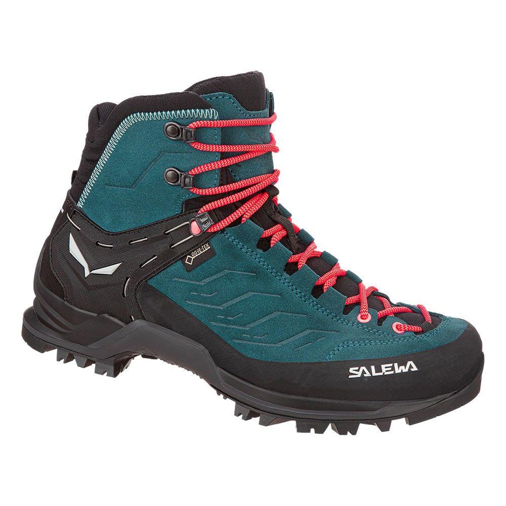 Salewa Pedule Trekking Mtn Trainer Mid Gtx Blu Donna EUR 38 / UK 5