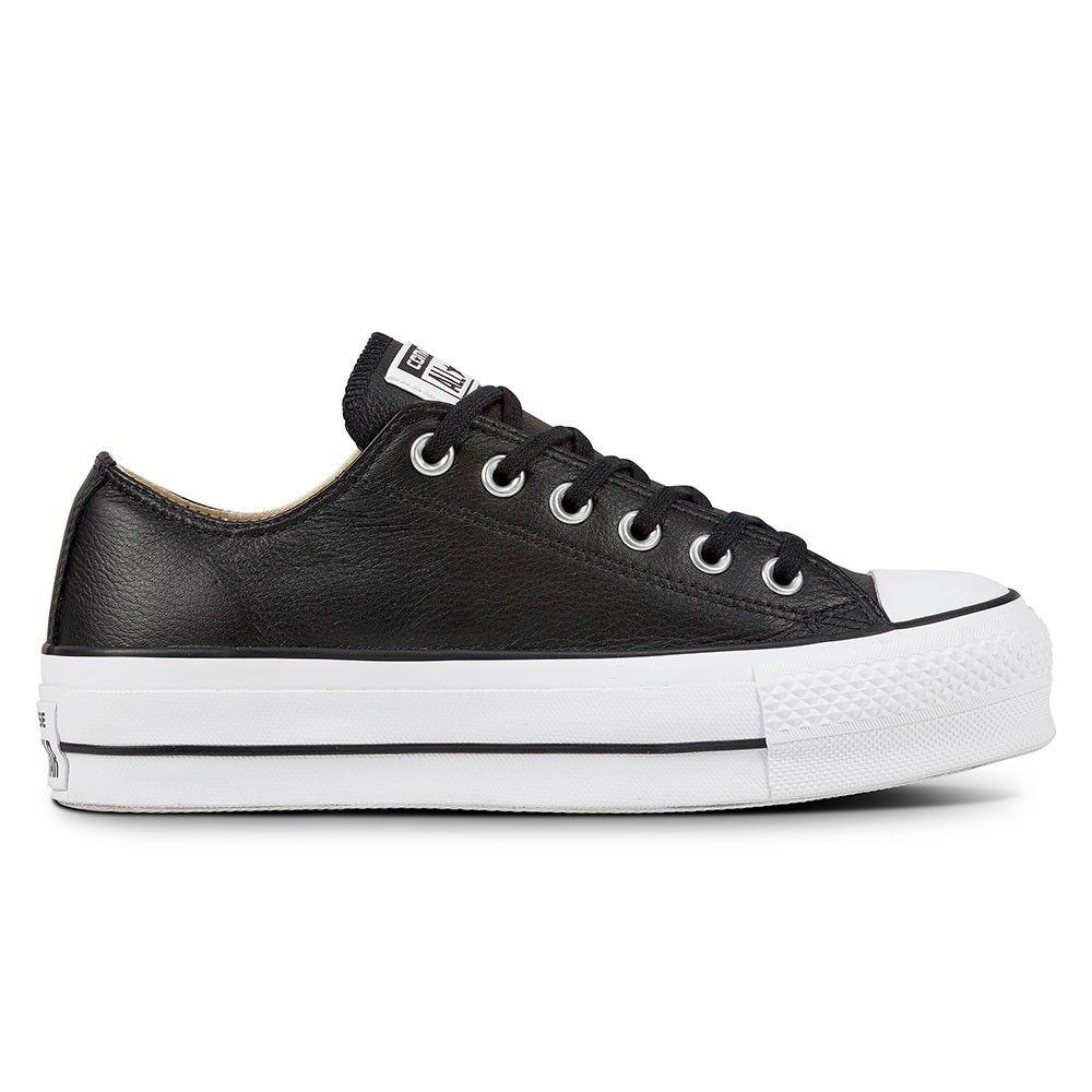 Converse Sneakers All Star Lift Lea Nero Bianco Donna EUR 36 / US 3.5