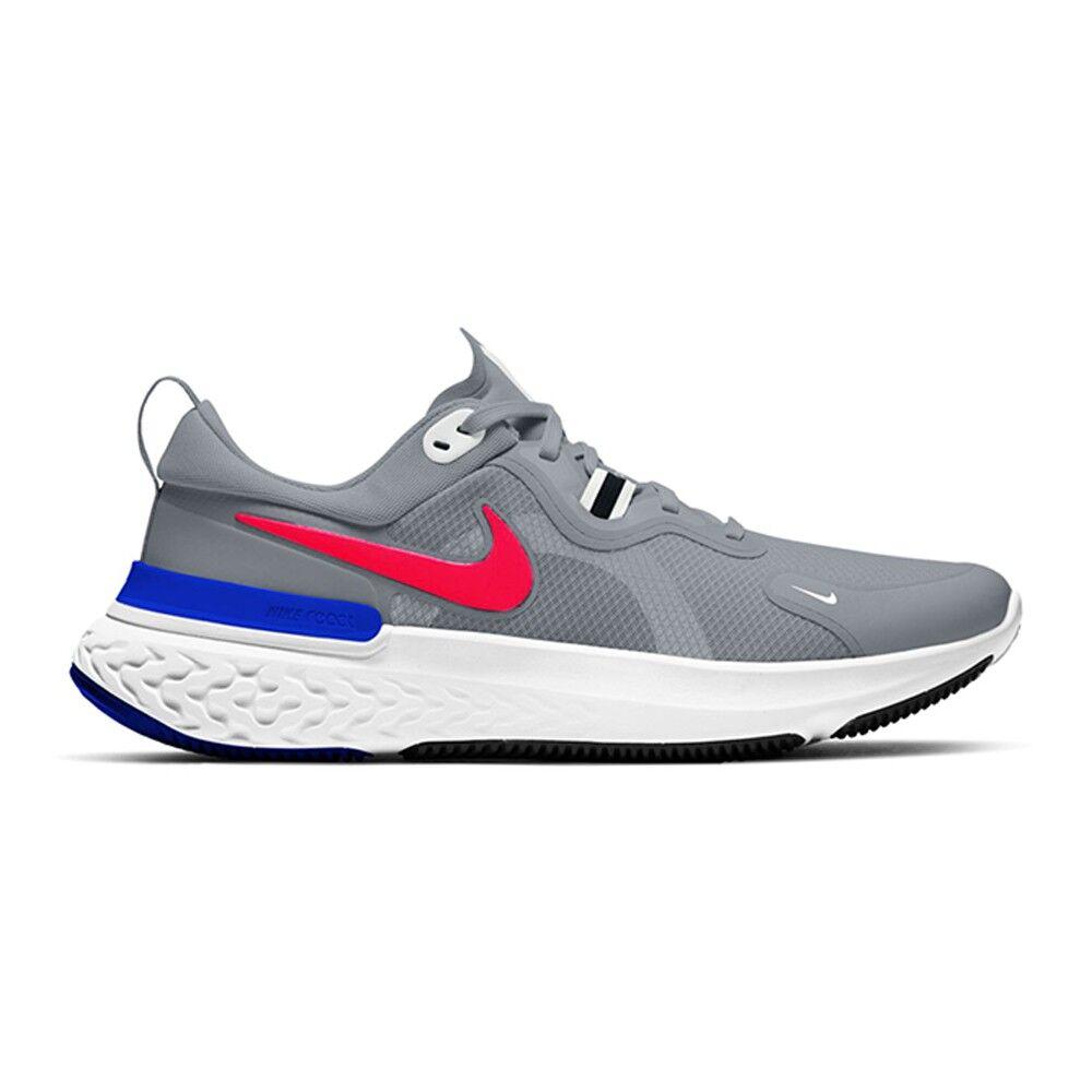 nike scarpe running miler react pure platinum bright crimson uomo eur 42 / us 8,5