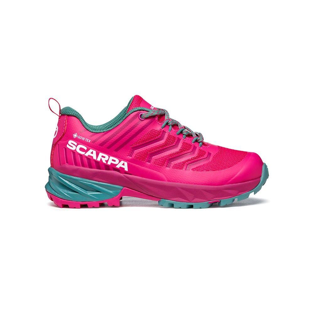 Scarpa Scarpe Trail Running Rush Gtx Fucsia Bambino EUR 35