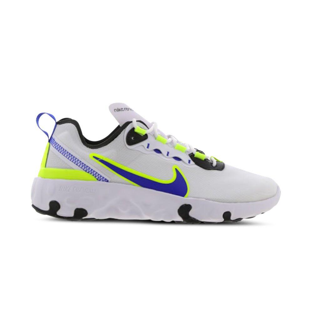 Nike Sneakers Renew Element 55 Gs Bianco Viola Bambino EUR 38.5 / US 6Y