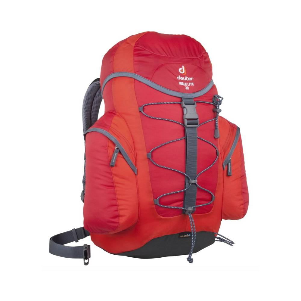 deuter zaino trekking walk air rc 30 lt rosso tu