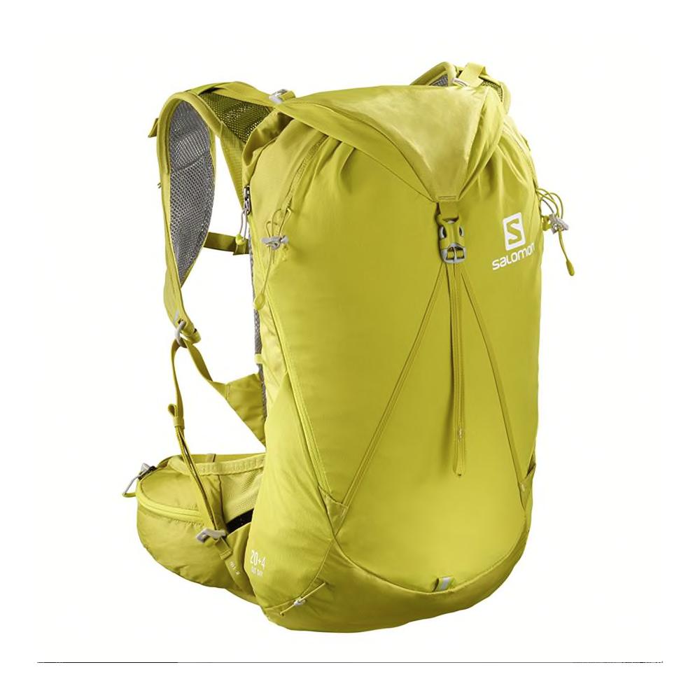 salomon zaino trekking out day 20+4 lt giallo m/l