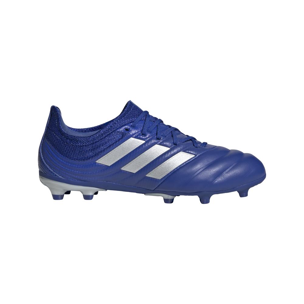 adidas scarpe da calcio copa 20.1 fg blu argento bambino eur 36 2/3 / uk 4