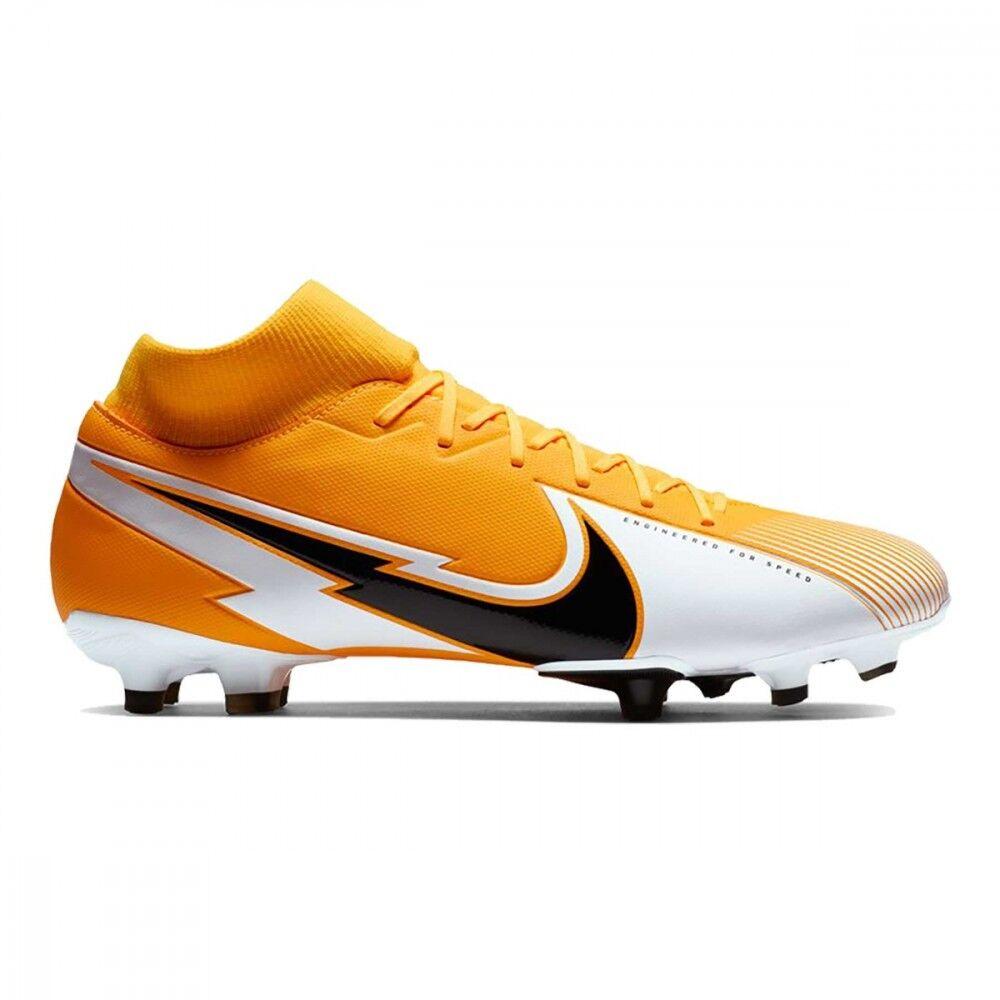 nike scarpe calcio superfly 7 academy fg mg giallo nero bambino eur 34 / us 2.5y