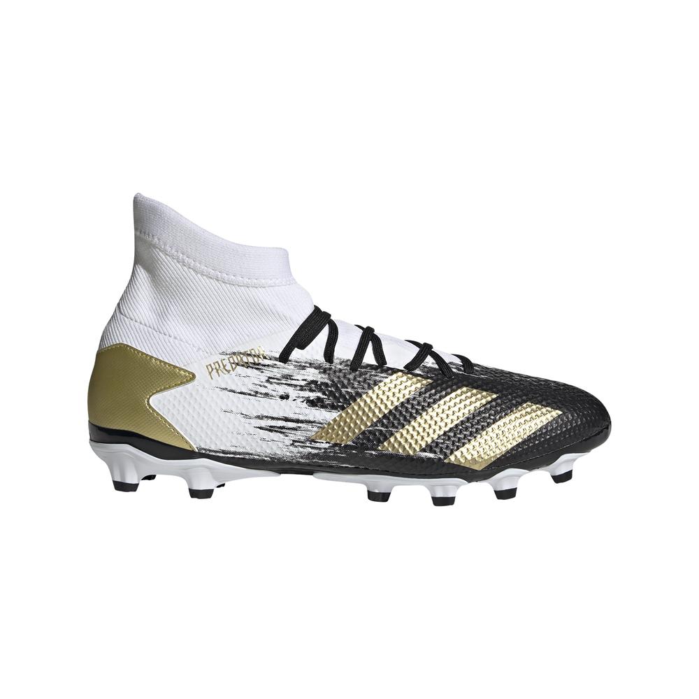 adidas scarpe da calcio predator 20.3 mg bianco oro uomo eur 46 / uk 11