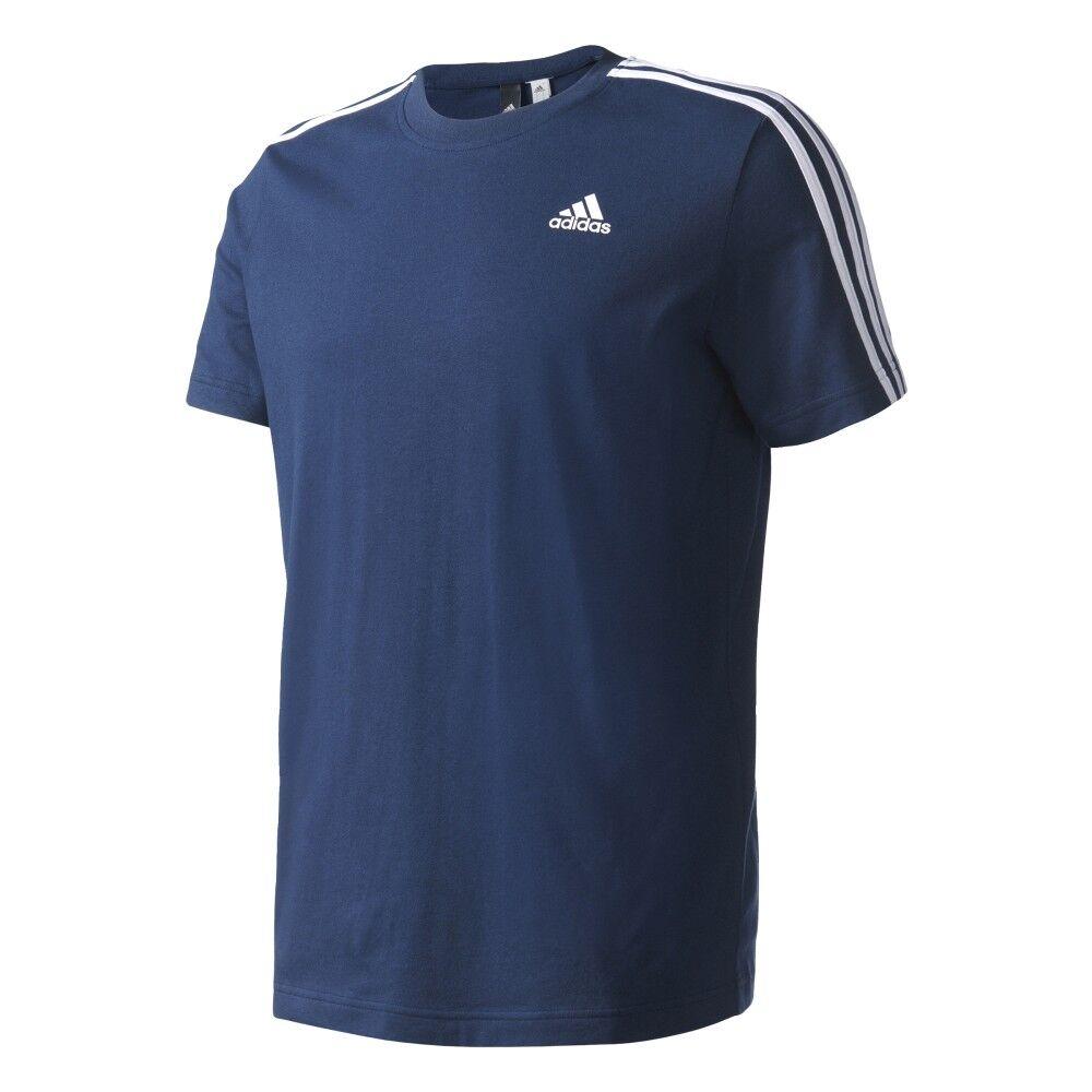 ADIDAS t-shirt mm 3 str blu L