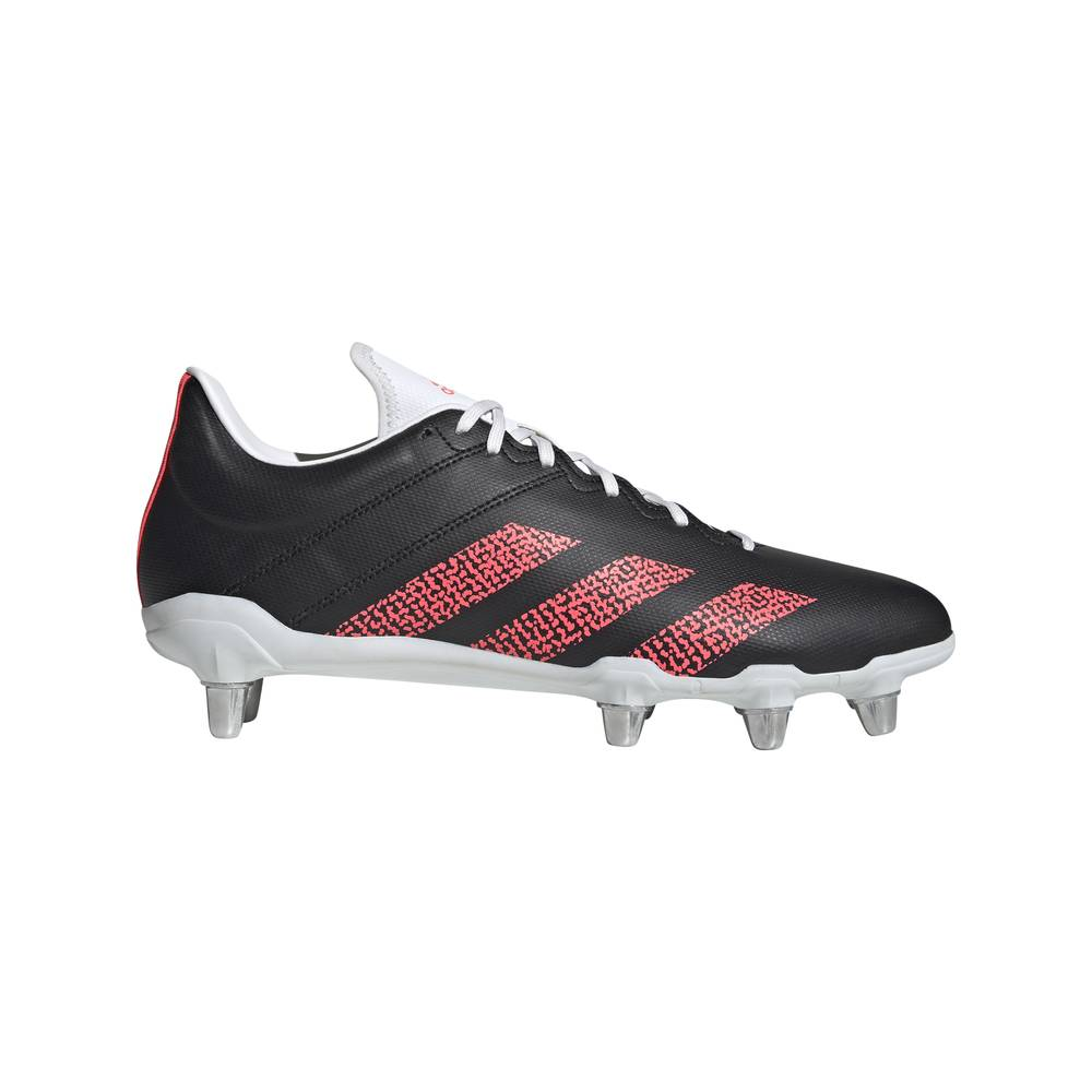 adidas scarpe da calcio x ghosted .3 ll fg nero rosso uomo eur 42 / uk 8