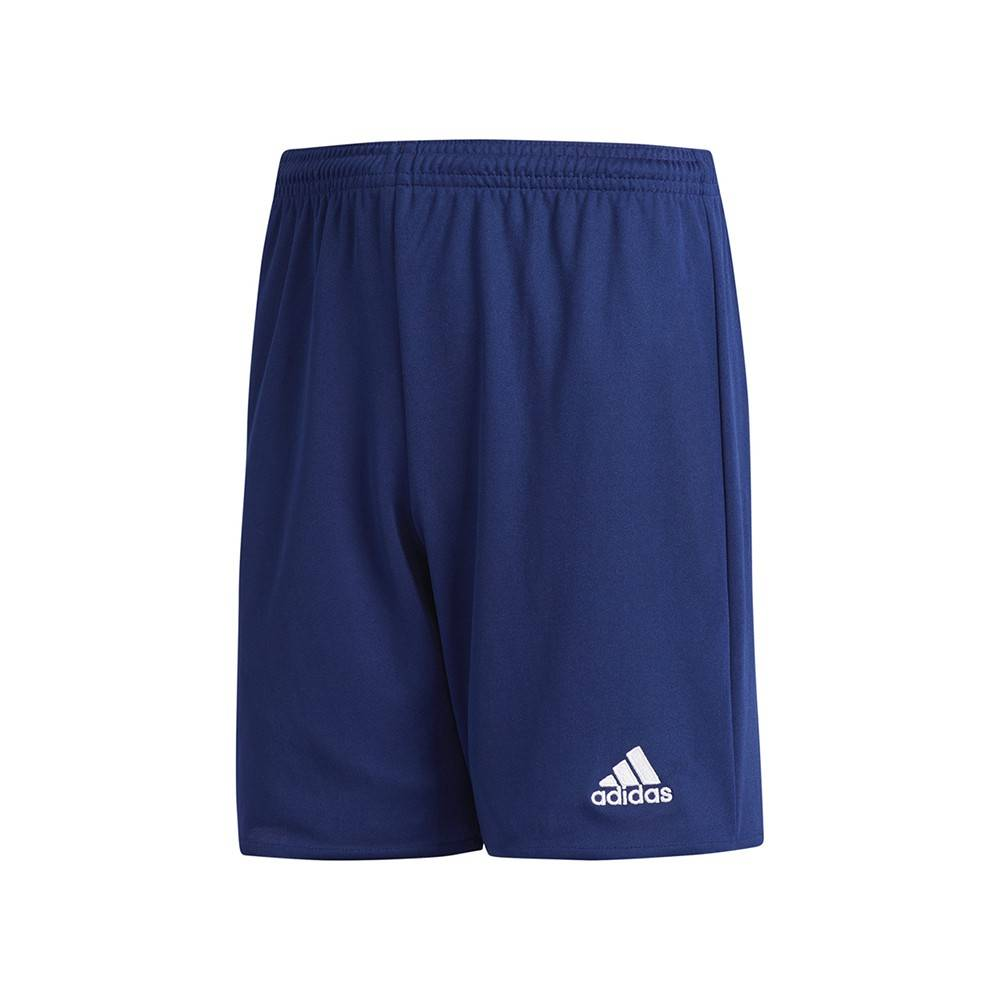 ADIDAS pantaloncini calcio parma 16 team blu bambino 9-10 Anni